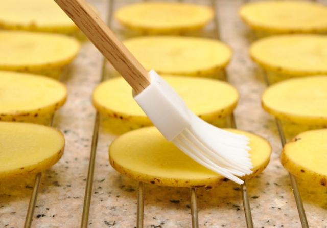 Как сделать чипсы в духовке