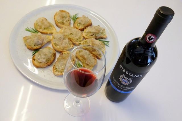 Как сделать гренки с вином
