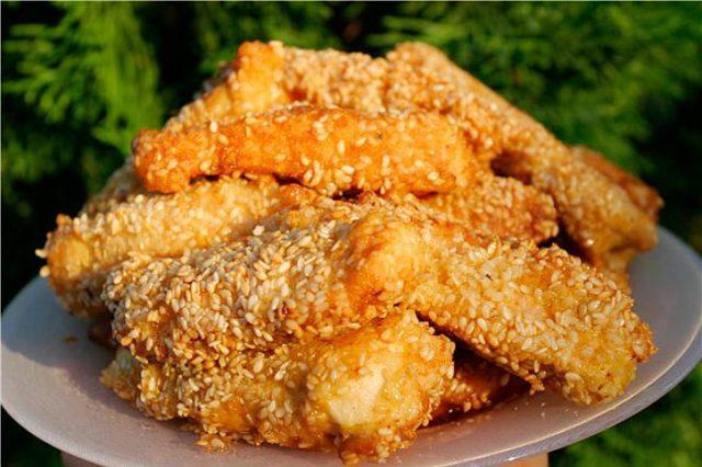 Как запечь куриное филе в панировке