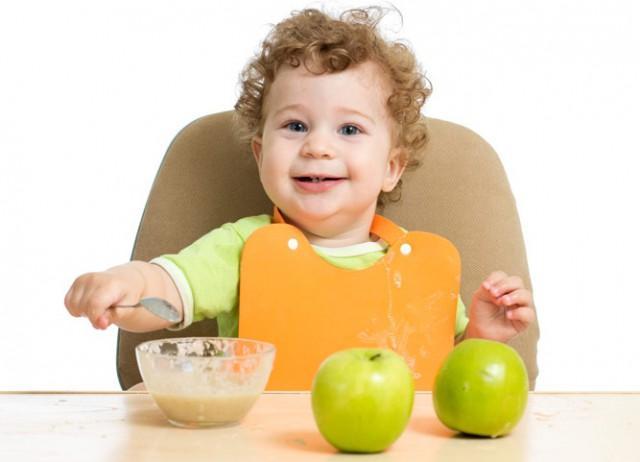 Как запечь яблоки прикорм