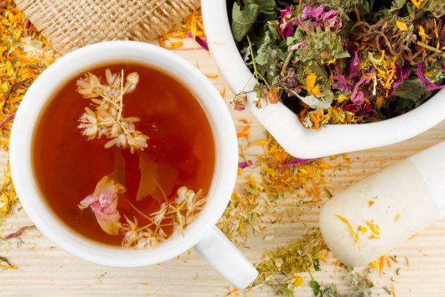 Как заваривать чай травяной