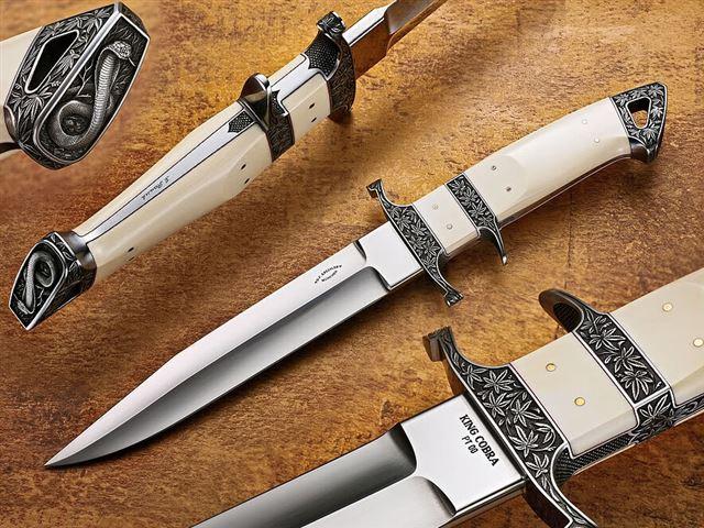 Изготовить охотничий нож дома нож галеон 95х18