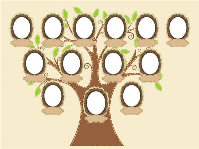 produce a family tree for at least three generations of your family a friend s family or a famous fa