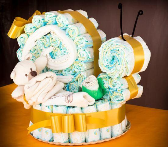 Как делать торт из памперсов своими руками