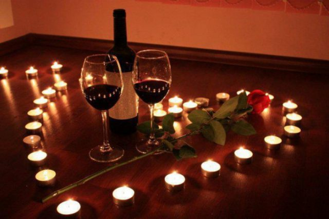 Романтический вечер для двоих дома 53